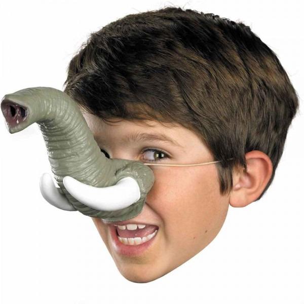 Amazon Com  Elephant Trunk With Tusks Nose  Clothing