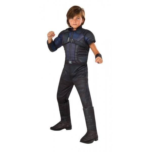Hawkeye Muscle Chest Kids Avengers Costume