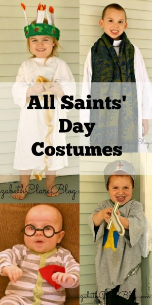 All Saints Day Costumes (diy