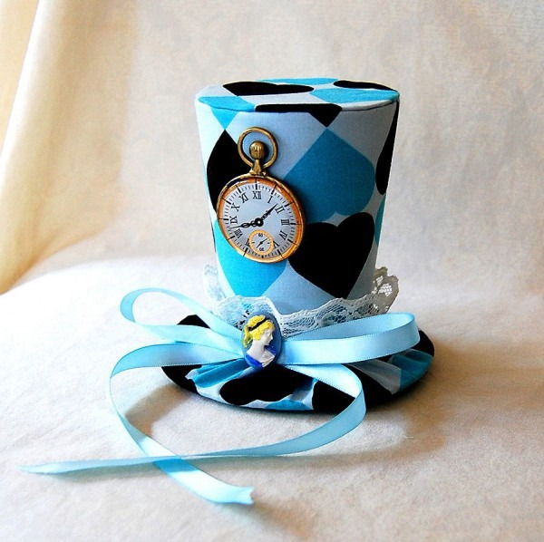 Tiny Top Hat Alice In Wonderland Version Two By Tinytophats