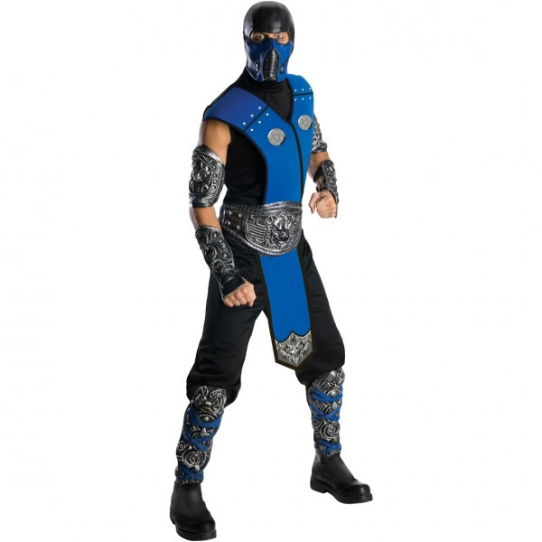 Rubie's Costume Adult Mortal Kombat Sub Zero Costume