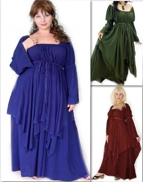 Renaissance Dresses Plus Size