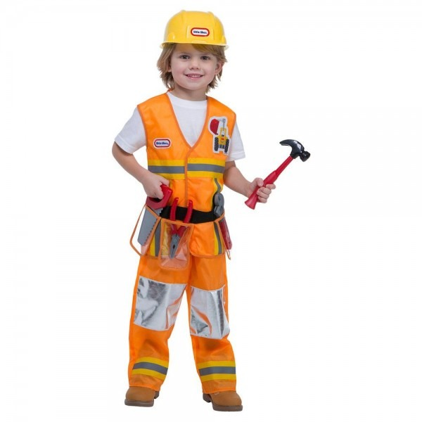 Toddler Little Tikes Construction Worker Costume