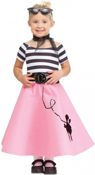 Soda Shop Sweetie Kids Costume