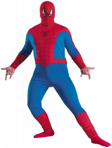 Men's Spiderman Plus Size Costume