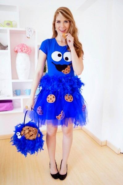 Diy Cookie Monster Costume W Tutorial! Everyone Loves Cookie