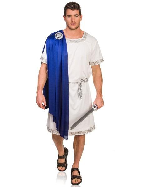 Blue Greek Emperor Adult Mens Costume …
