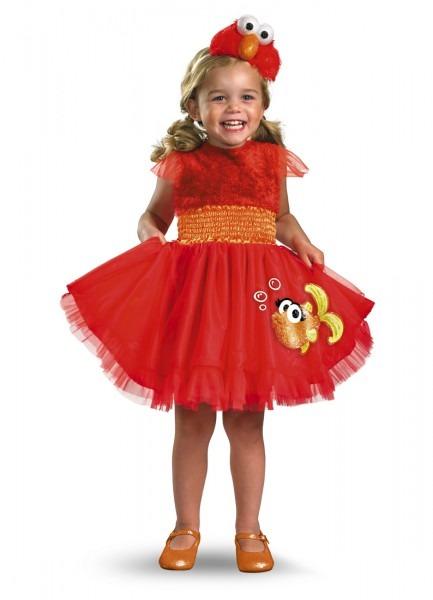 Frilly Elmo Toddler Halloween Costume