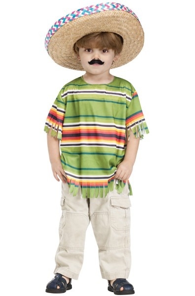 Amazon Com   Little Mexican Amigo Toddler Costume By Fun World