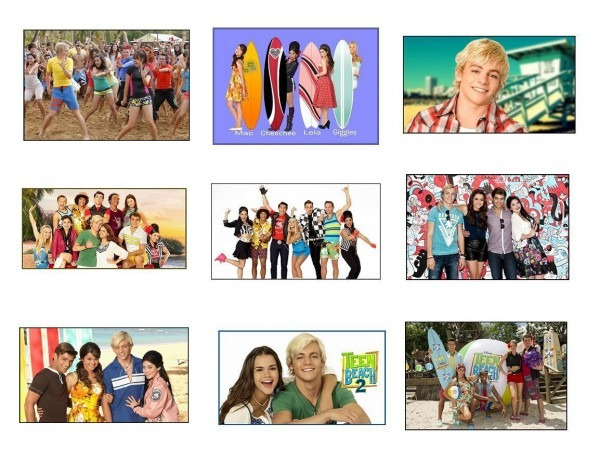 9 Teen Beach Movie Stickers, Birthday Party And Similar Items