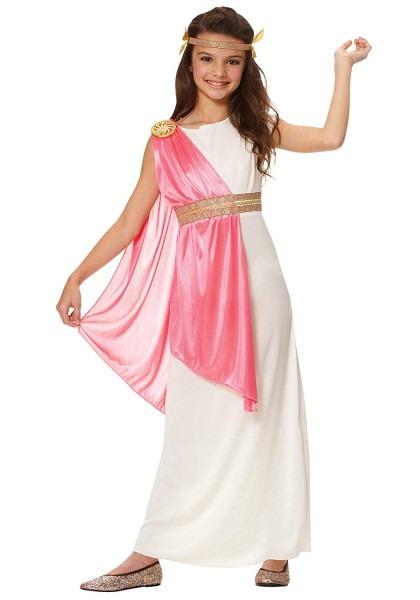 Amazon Com  Costume Culture Girl's Roman Empress Costume, Ivory