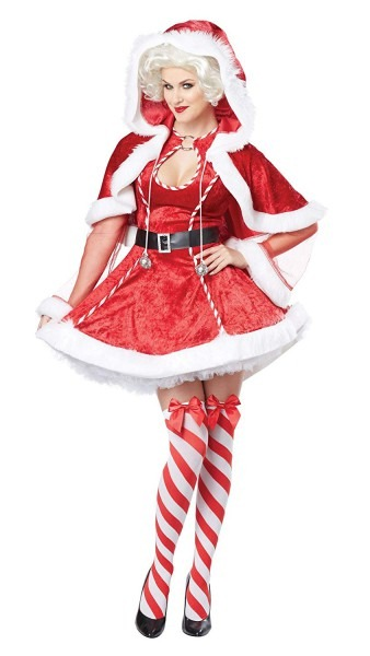 Amazon Com  California Costumes Women's Sexy Mrs  Claus Adult