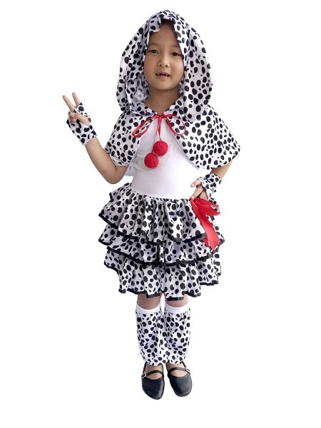 Amazon Com  So Sydney Deluxe Girls Dalmatian Costume & Accessories