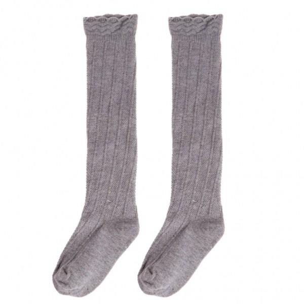 Amazon Com   Peako Baby Toddler Girls Cotton Knee High Socks