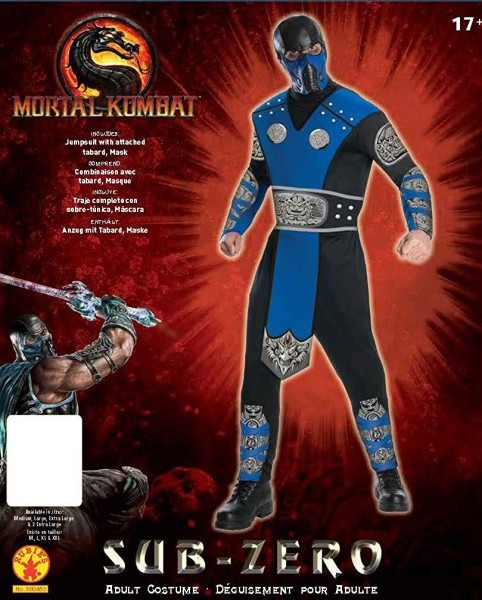 Amazon Com  Mortal Kombat Adult Sub