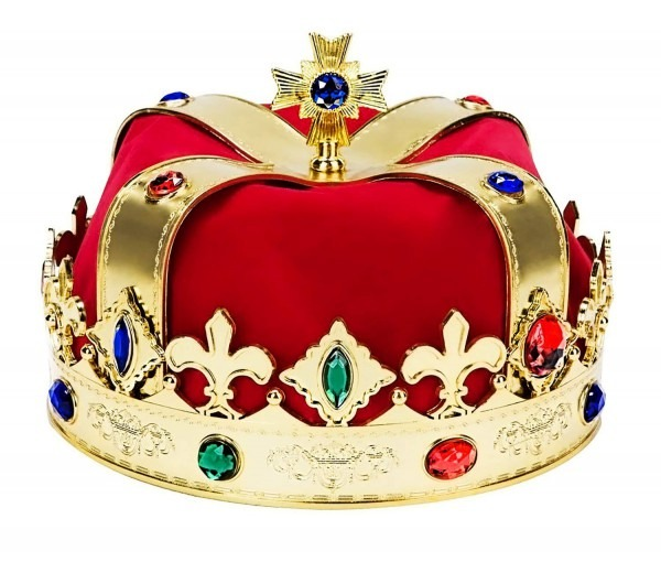 Amazon Com  King Gold Crowns Costume – Perfect For Royal Kingdom