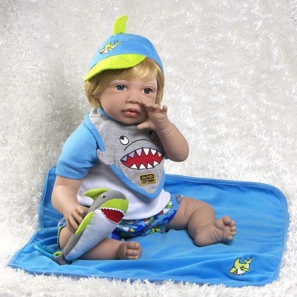 Amazon Com  Paradise Galleries Reborn Toddler Sharkey, 20 Inch