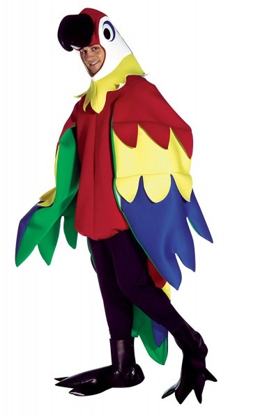 Amazon Com  Uhc Unisex Parrot Outfit Mascot Theme Party Funny
