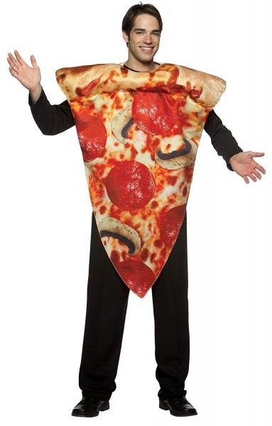 Amazon Com  Rasta Imposta Pizza Slice Costume, Multi