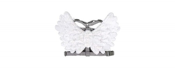 Amazon Com   Target Grey Dog Harness With Detachable White Angel