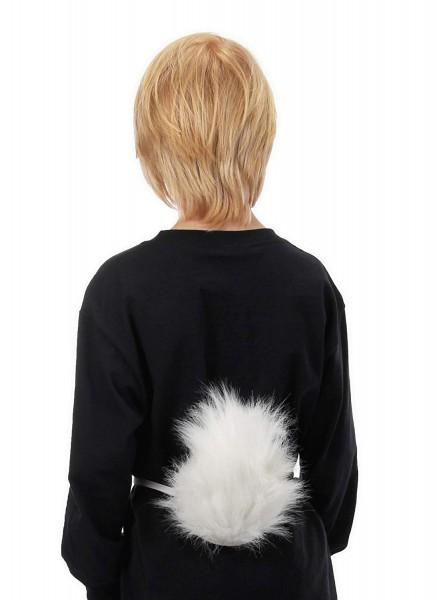 Amazon Com  Elope White Bunny Rabbit Costume Perky Tail  Clothing