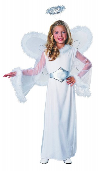 Amazon Com  Feathered Fashions Child's Snow Angel Costume, Medium