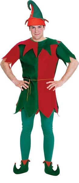 Amazon Com  Rubie's Men's Elf Tunic, Green, One Size  Clothing