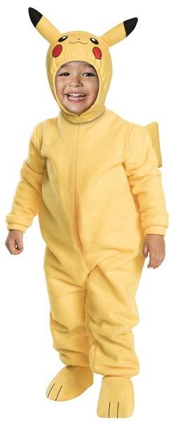 Amazon Com  Rubies Pokemon Pikachu Toddler Jumpsuit Costume