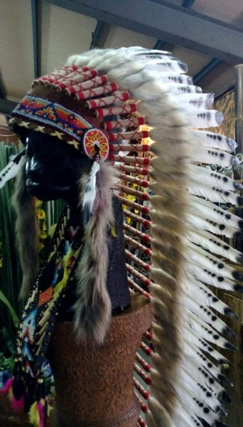 Amazon Com  Feather Headdress Native American Indian Headdress