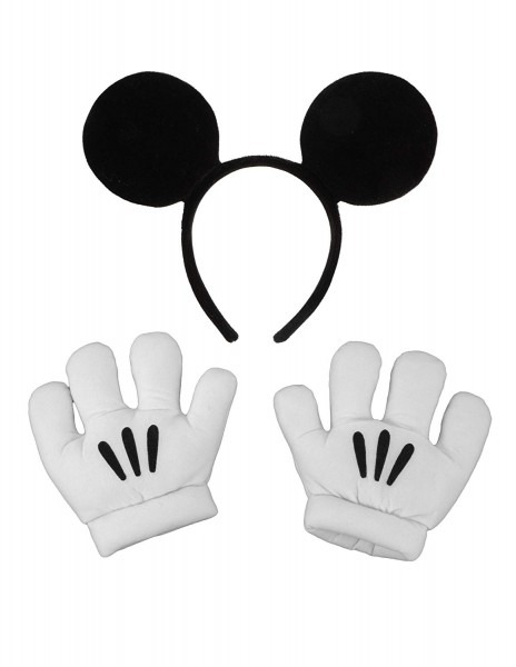 Amazon Com  Elope Disney's Mickey Mouse Ears & Gloves Set  Clothing