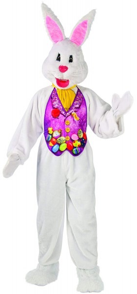 Amazon Com  Rubie's Men's Super Deluxe 2x Mascot Bunny Costume