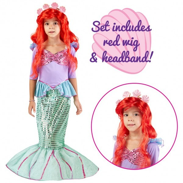 Amazon Com  Spooktacular Creations Deluxe Mermaid Costume Set With