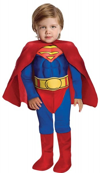 Amazon Com  Rubie's Boy's Superman Muscle Chest Toddler Fancy