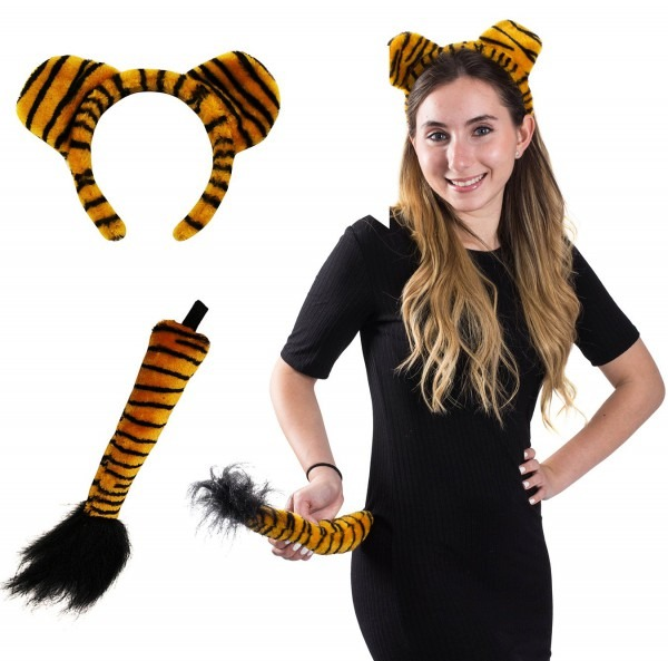 Funny Party Hats Tail And Ears Set