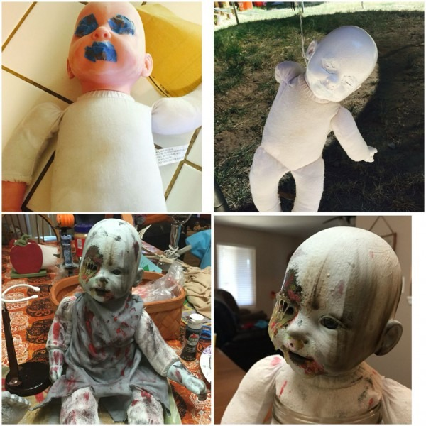 My Newest Creepy Baby Doll Makeover  )