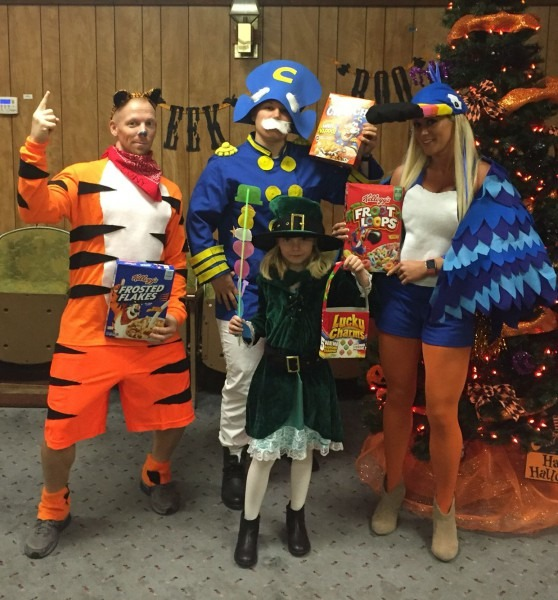 Halloween Cereal Box Characters, Tucan Sam, Tony The Tiger