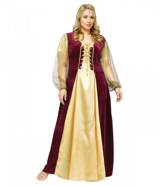 Lady Juliet Women Plus Size Costume
