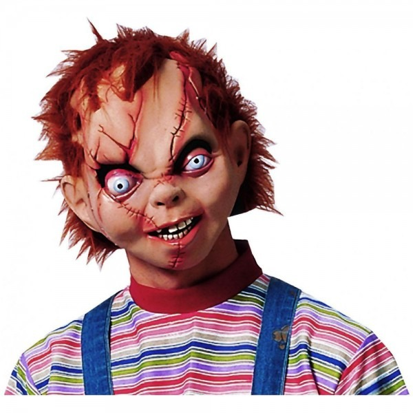 Chucky Mask Costume Mask Adult Mens Chucky Halloween