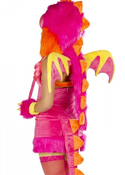 Amazon Com  J Valentine Pink Dragon Wings  Clothing