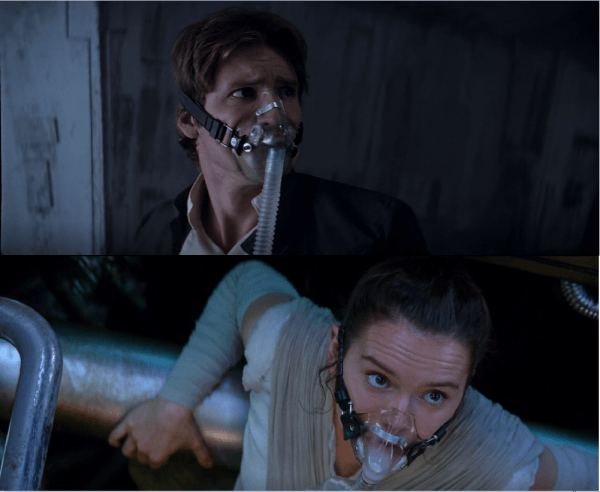 In Star Wars  The Force Awakens, Rey And Finn Use The Same