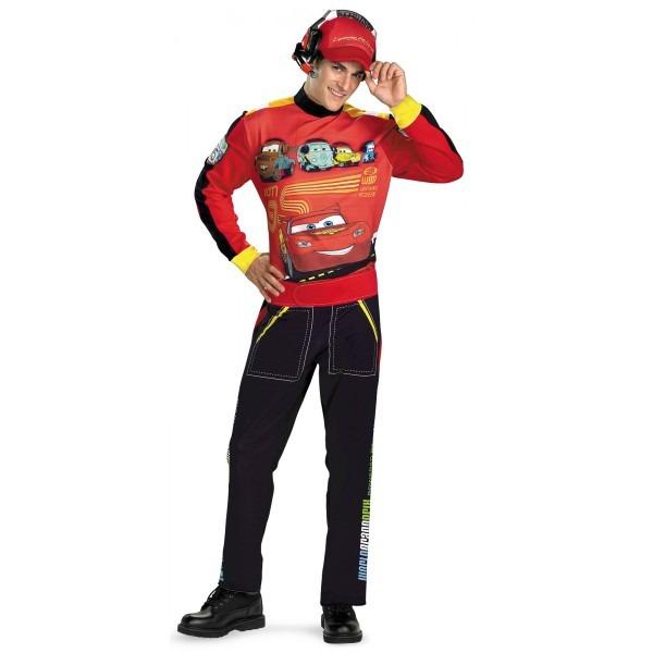 Lightning Mcqueen Halloween Costume & Disney Cars Lightning