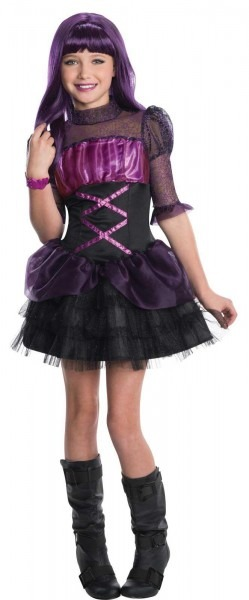 New Monster High Elissabat Child Girls Halloween Book Week Fancy