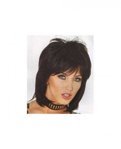 80's Rocker Short Black Wig