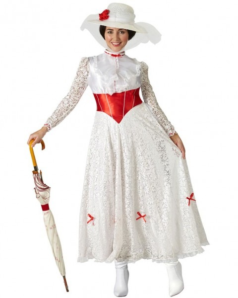 Buy Mary Poppins Jolly Holiday Deluxe Womens Costume For Au$89 99