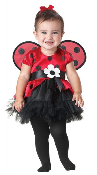 Amazon Com  Seasons Halloween Tiny Ladybug Costume For Baby