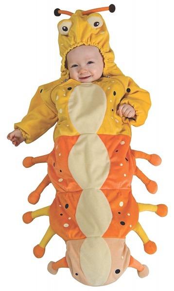 Amazon Com  Rubie's Baby Caterpillar Costume, Newborn  Clothing