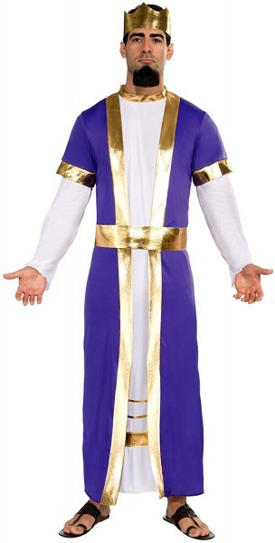 Amazon Com  Biblical King Men's Costume  Clothing