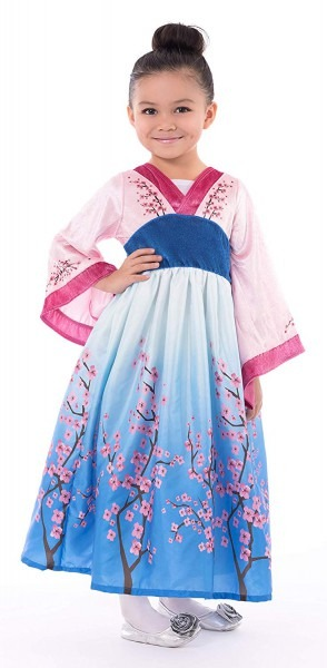 Amazon Com  Little Adventures Asian Princess Dress Up Costume