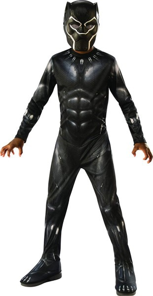 Amazon Com  Rubie's Black Panther Child's Costume, Black Grey
