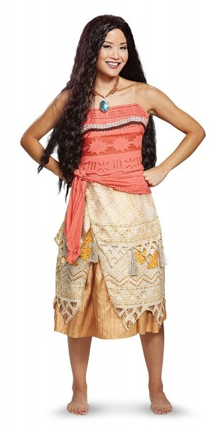 Amazon Com  Disney Moana Women's Costume By Disguise  Clothing